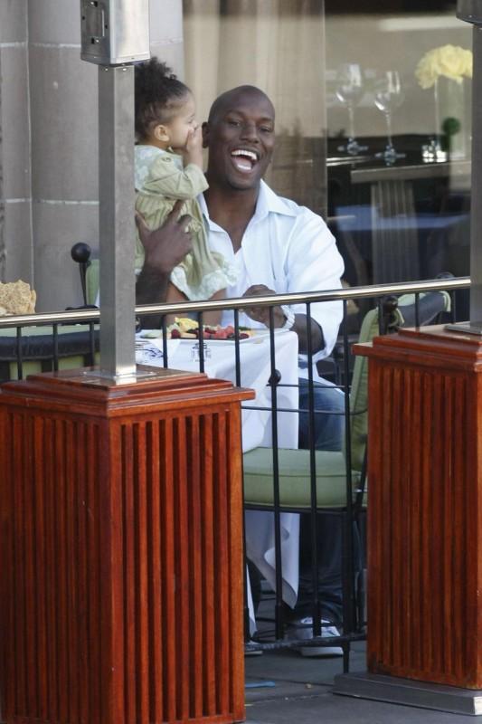 Tyrese Gibson e sua figlia