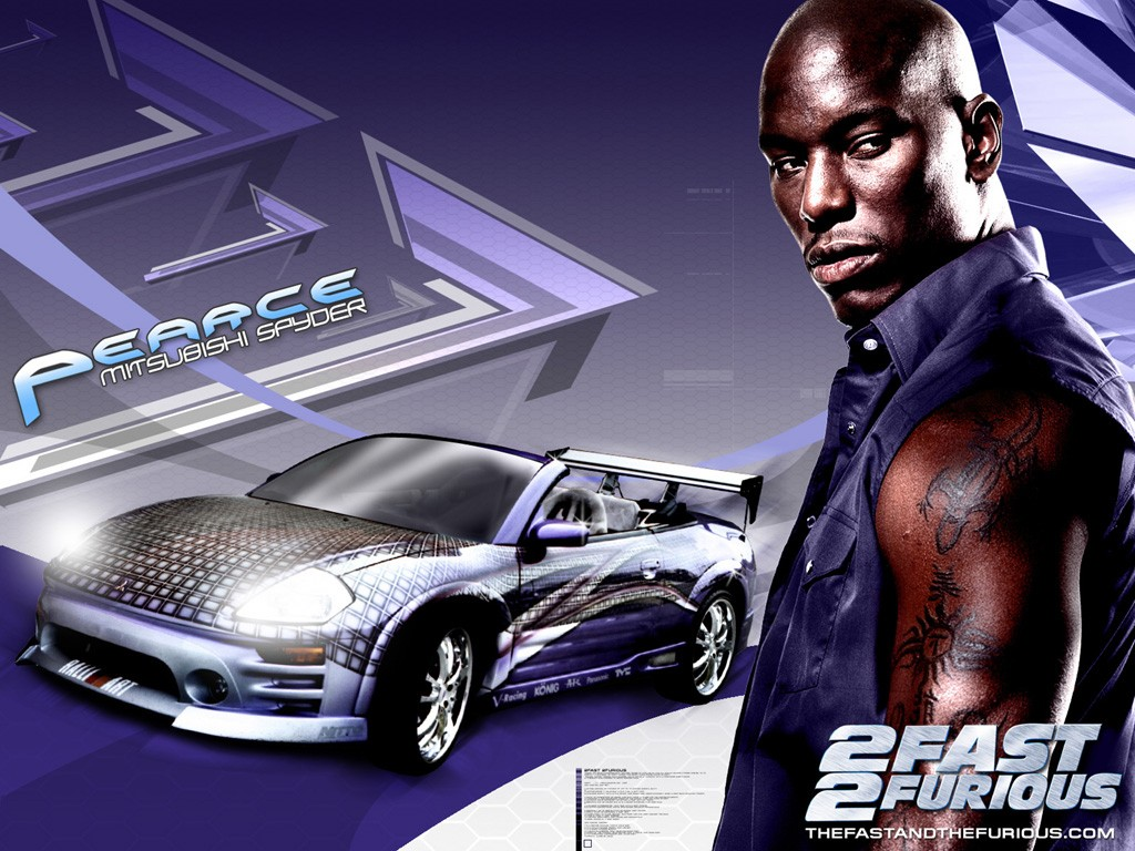 Tyrese Gibson in un wallpaper di 2 Fast 2 Furious