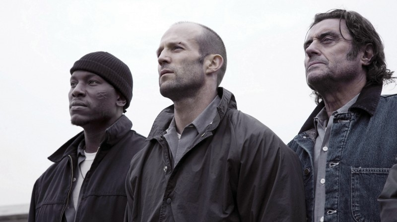Tyrese Gibson, Jason Statham e Ian McShane in Death Race