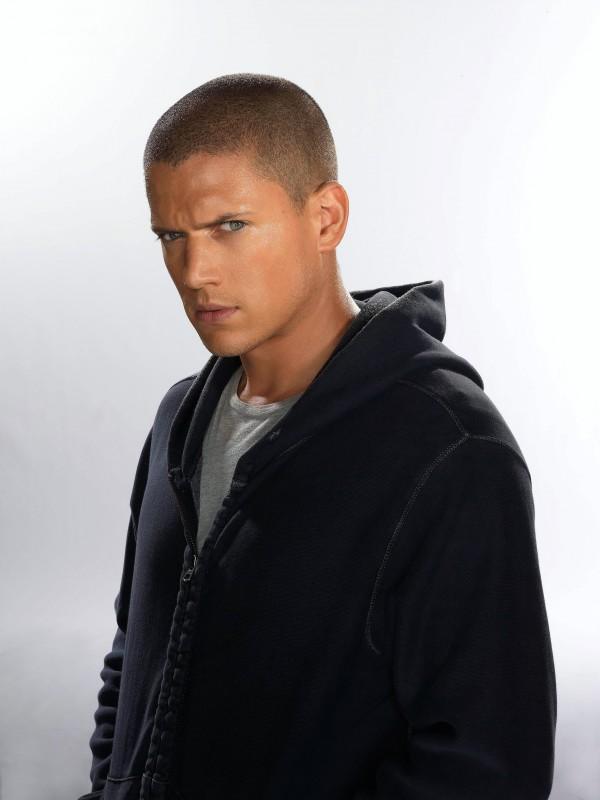 Wentworth Miller in una immagine promo della stagione di Prison Break