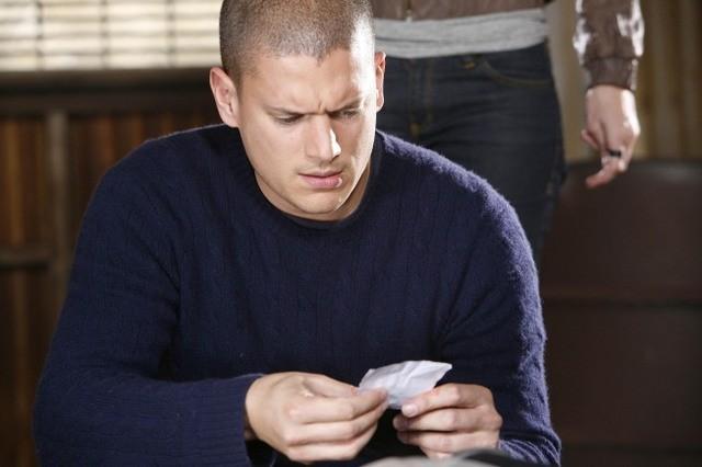 Wentworth Miller nell'episodio The Mother Lode di Prison Break