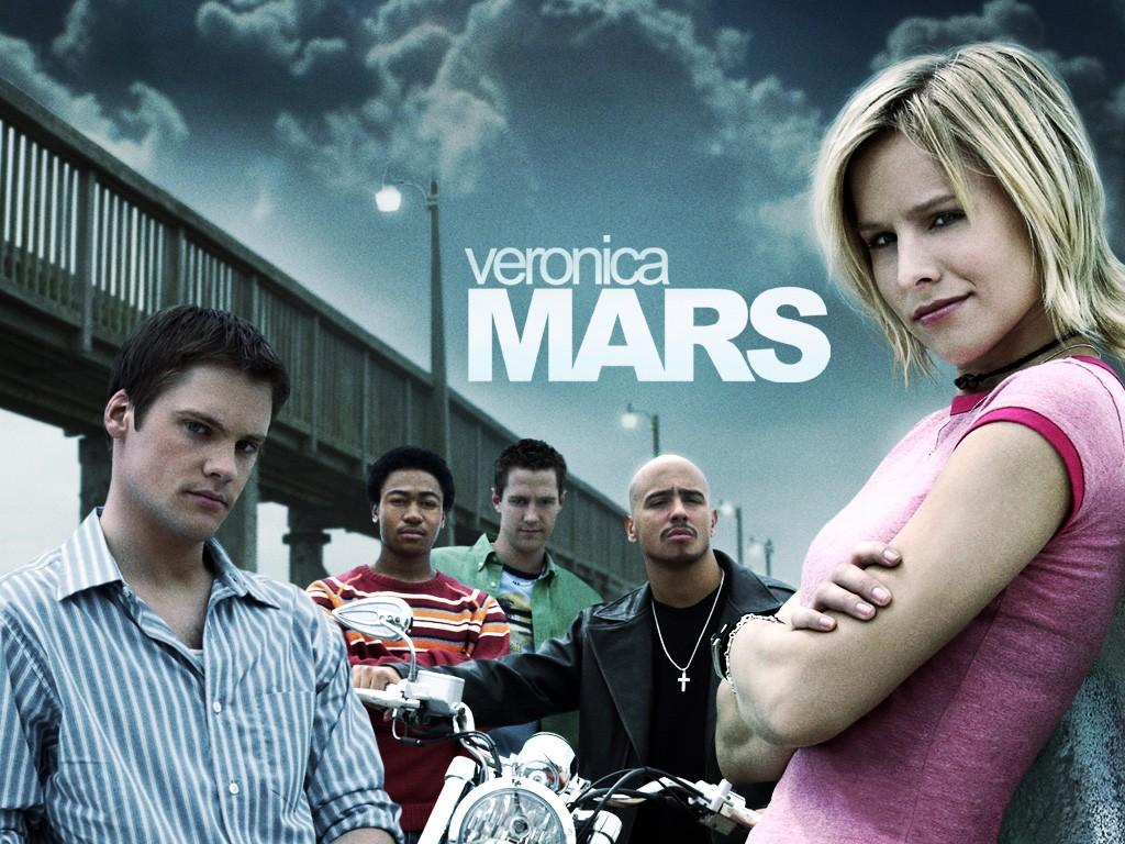 Wallpaper con il cast principale della prima stagione di Veronica Mars