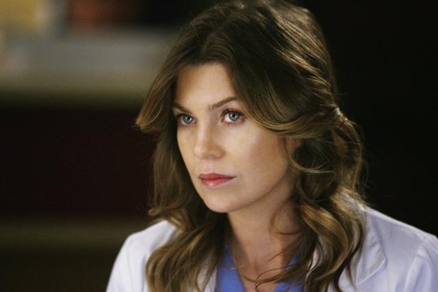 Ellen Pompeo in una scena dell'episodio No Good At Saying Sorry di Grey's Anatomy