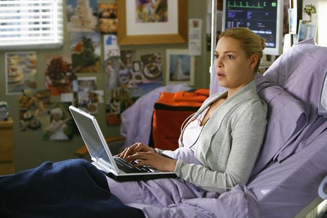 Katherine Heigl nell'episodio No Good At Saying Sorry di Grey's Anatomy
