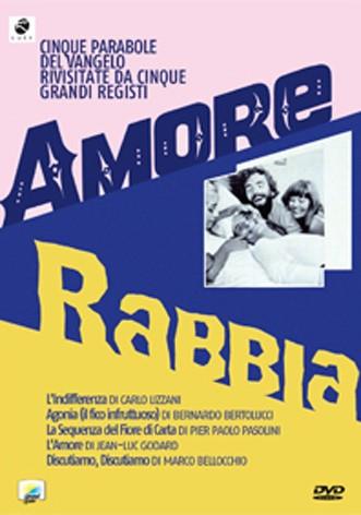 La copertina di Amore e rabbia (dvd)