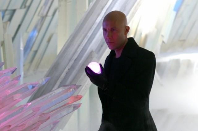 Lex Luthor interpretato da Michael Rosenbaum nell'episodio 'Arctic' della serie tv Smallville
