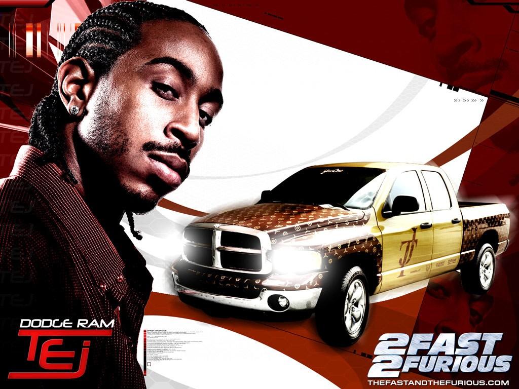 Ludacris in un wallpaper di 2fast 2furious