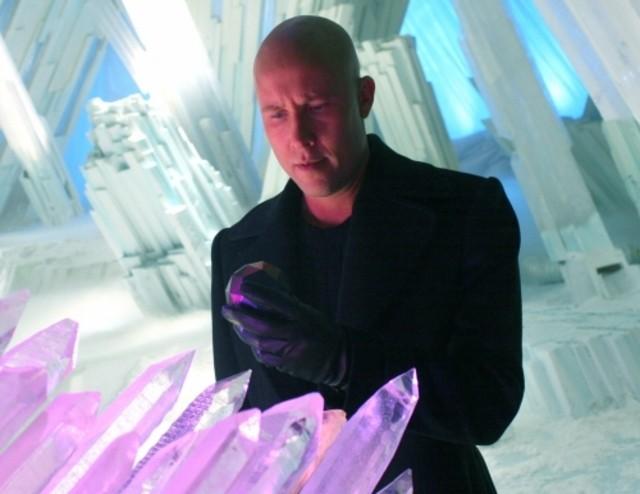Michael Rosenbaum nell'episodio 'Arctic' della serie tv Smallville