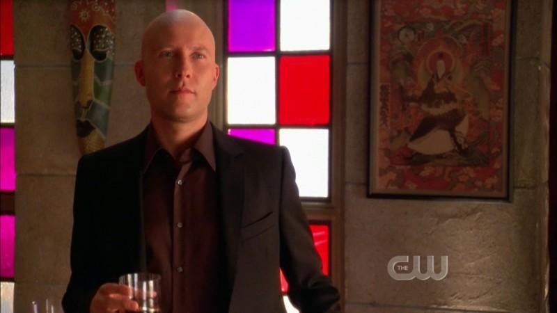 Michael Rosenbaum nell'episodio 'La fondazione Isis' della settima stagione di Smallville
