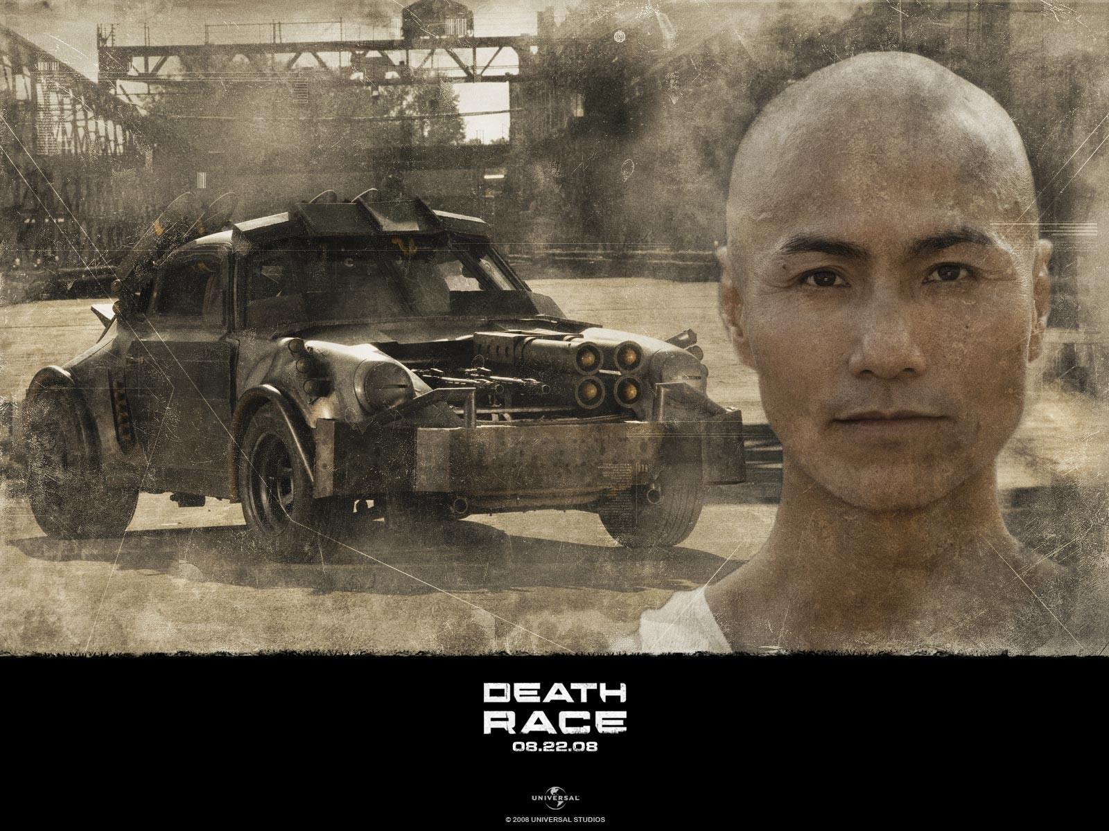 "Robin Shou interpreta 14K nel film ""Death Race"""