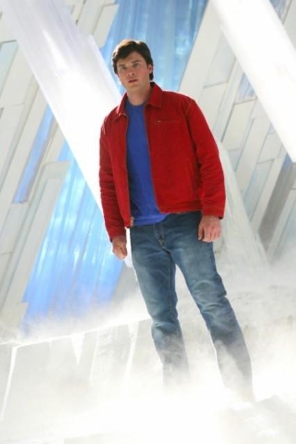Tom Welling nell'episodio finale della settima stagione di Smallville:  'Arctic'