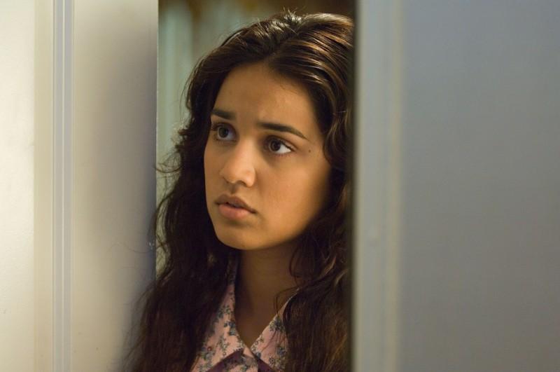 Un primo piano di Summer Bishil, protagonista del film Towelhead