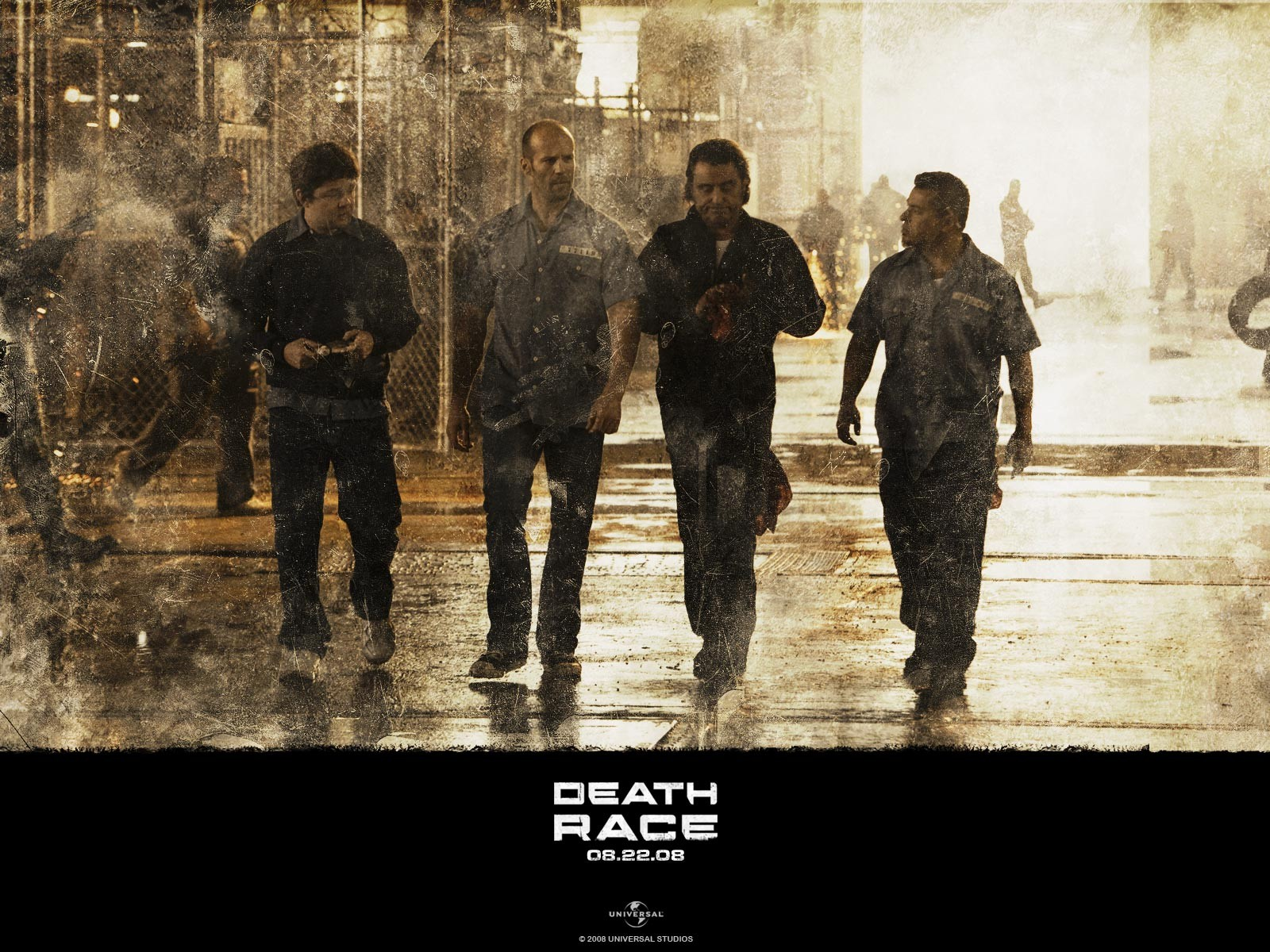 wallpaper del film Death Race (2008)