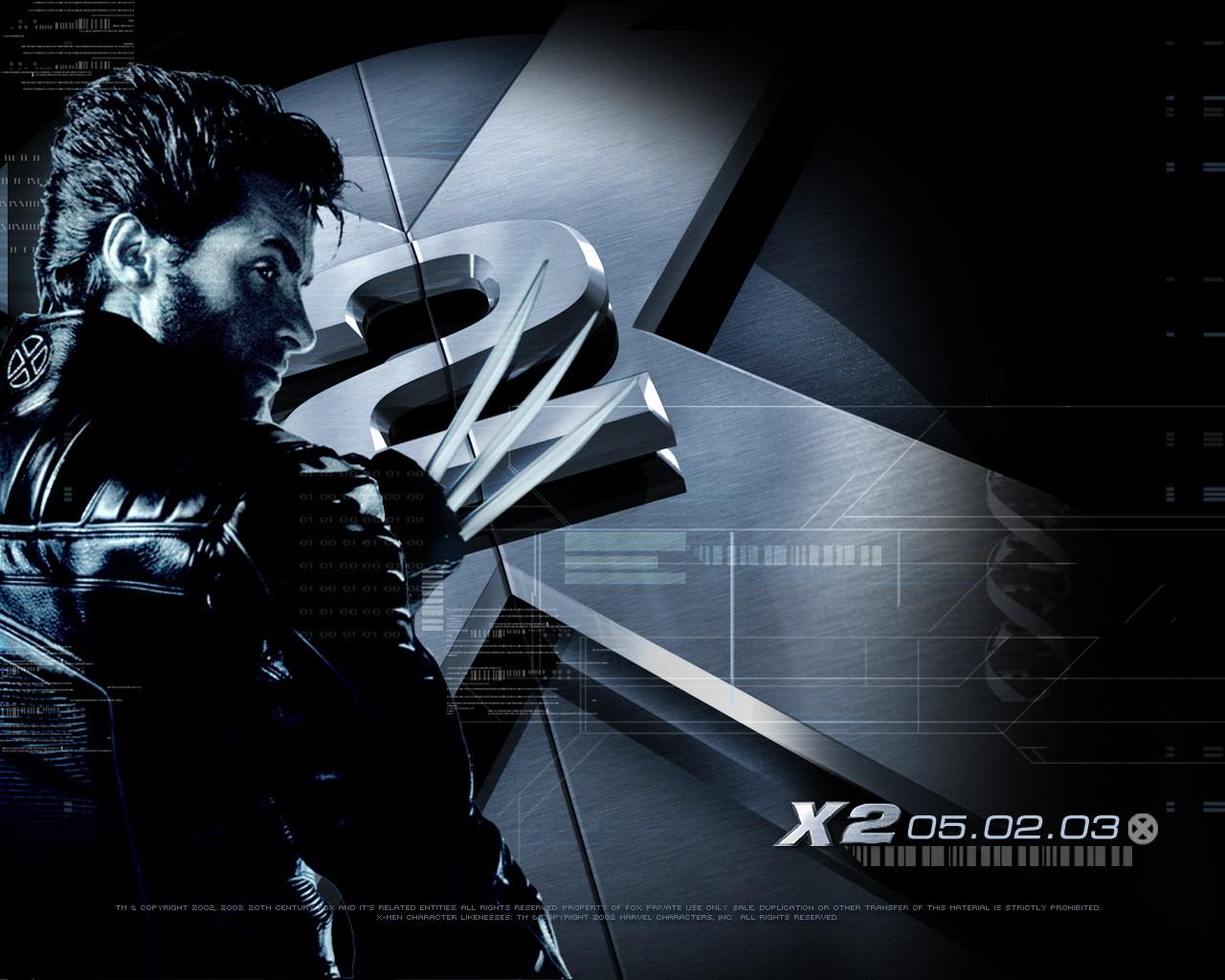 X-men 2 - wallpaper con Hugh Jackman
