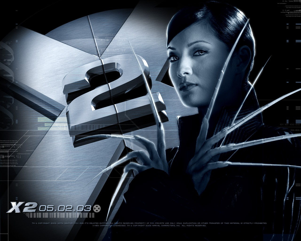 X-men 2 - wallpaper di Kelly Hu