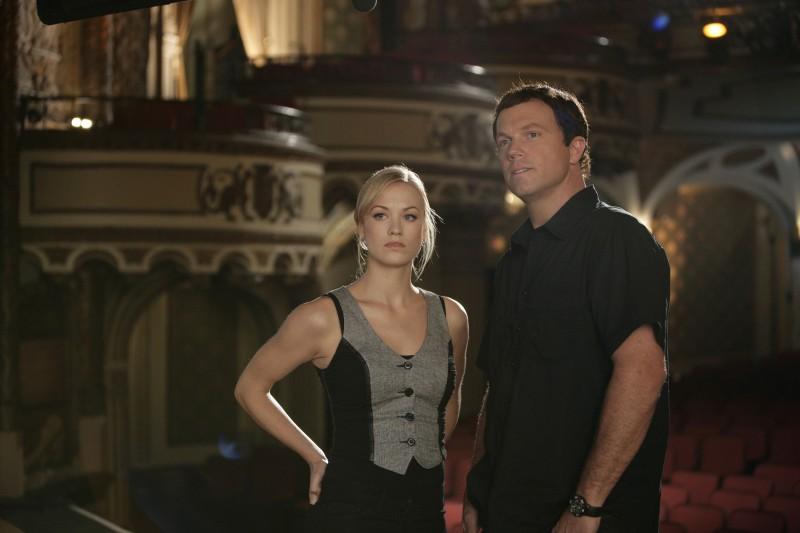 Adam Baldwin e  Yvonne Starhovski nell'episodio 'Chuck Versus the Fat Lady' della seconda stagione di Chuck