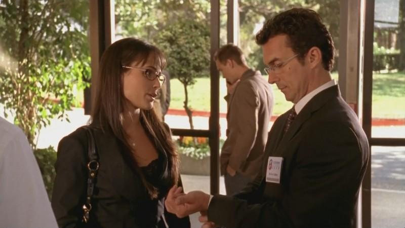 Una scena dell'episodio 'Chuck Versus the Fat Lady' della seconda stagione di Chuck