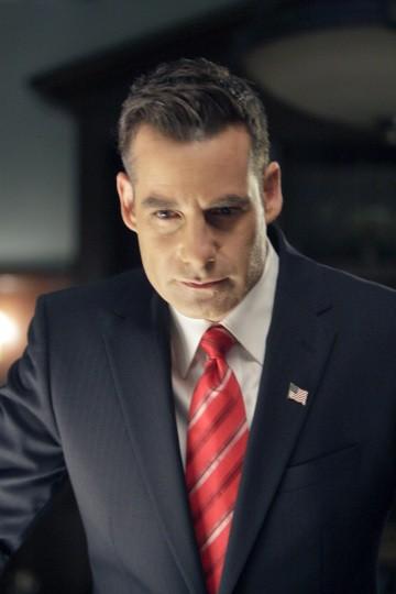 Adrian Pasdar in una scena di I Am Sylar dalla terza stagione di Heroes