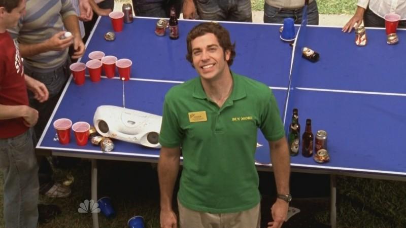 Chuck, interpretato da Zachary Levi in un momento dell'episodio Chuck Versus the Ex della seconda stagione di Chuck