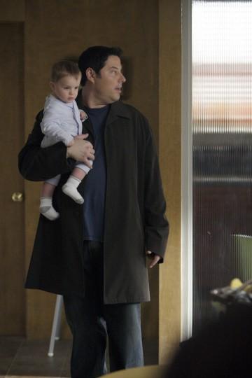 Greg Grunberg in una scena di I Am Sylar dalla terza stagione di Heroes