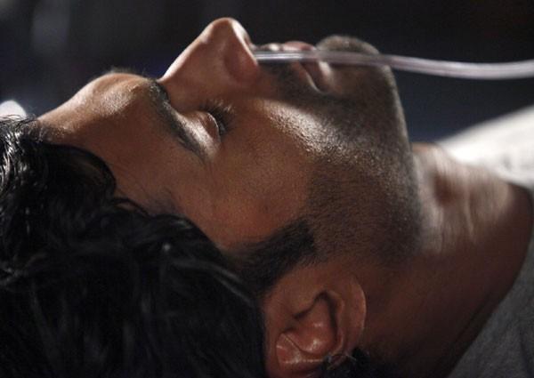 Sendhil Ramamurthy in una scena di An Invisible Thread dalla terza stagione di Heroes