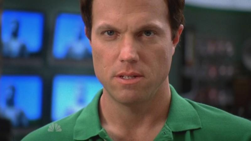 Un primo piano da duro di Adam Baldwin, nell'episodio 'Chuck Versus the Sensei ' della serie televisiva Chuck