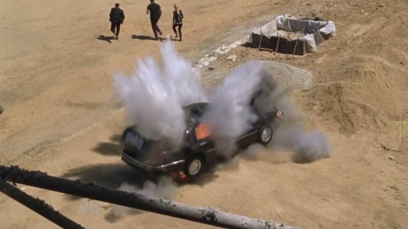 Una scena d'azione dell'episodio 'Chuck Versus the Sensei' della serie tv Chuck