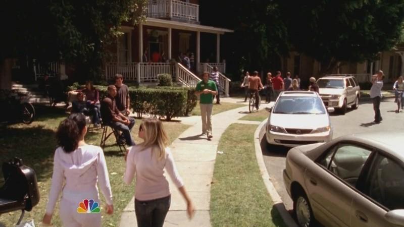 Una scena dell'episodio Chuck Versus the Ex della seconda stagione della serie televisiva Chuck