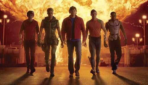 Una scena dell\'episodio La Lega della Giustizia di Smallville