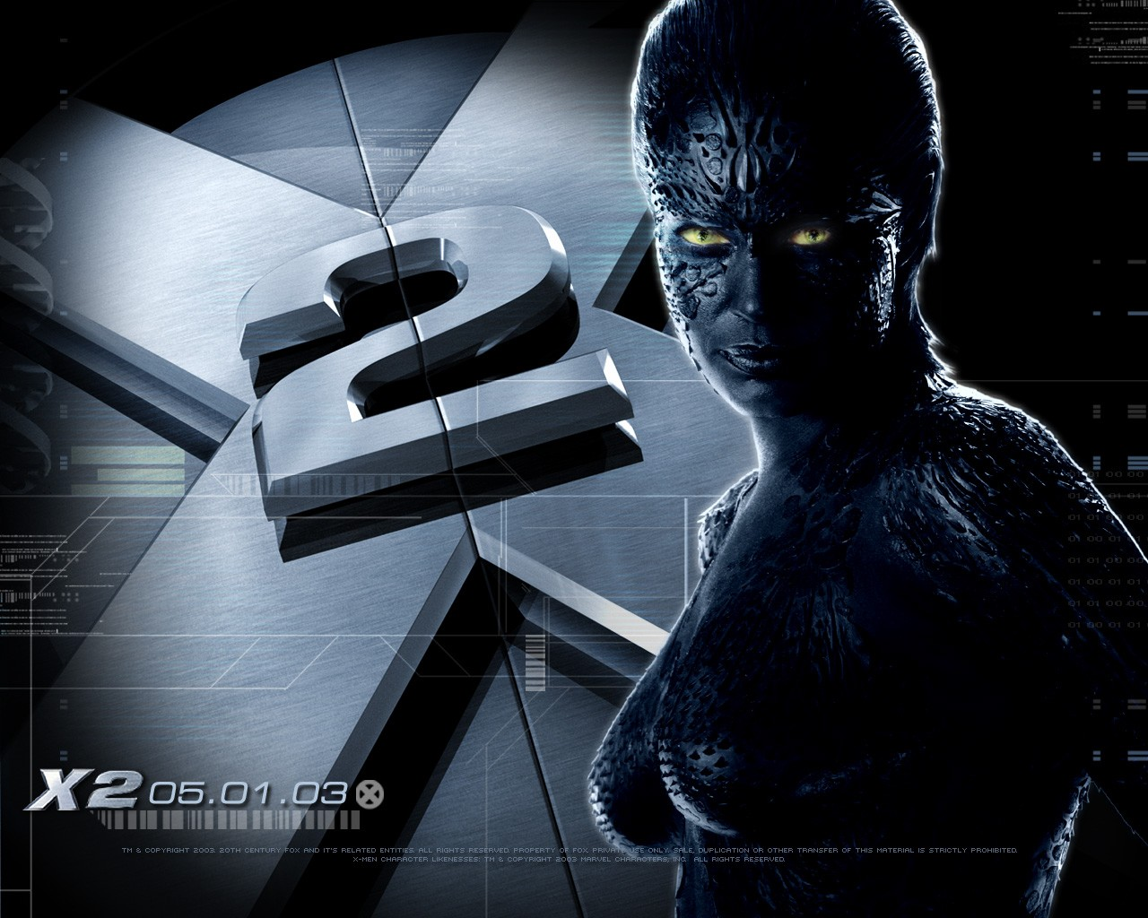 X-men 2: un wallpaper con Rebecca Romijn