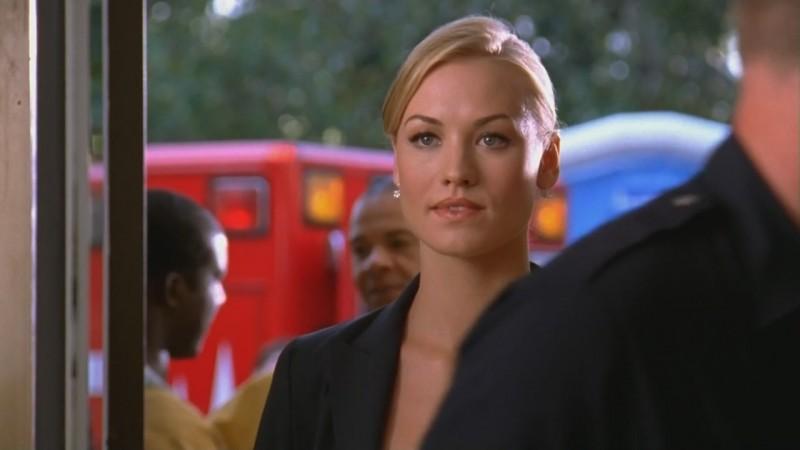 Yvonne Starhovski in una scena dell'episodio 'Chuck Versus the Fat Lady' della seconda stagione di Chuck