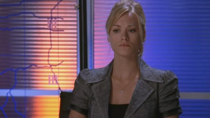 Yvonne Starhovski nell'episodio 'Chuck Versus the Fat Lady' della seconda stagione di Chuck