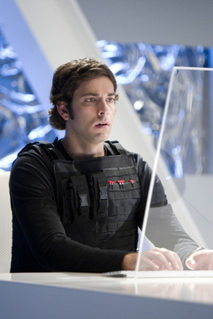 Zachary Levi nell'episodio 'Chuck Versus the Dream Job' della serie tv Chuck