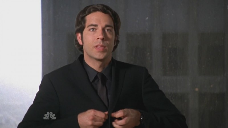 Zachary Levy in una scena dell'episodio 'Chuck Versus the DeLorean' della seconda stagione di Chuck