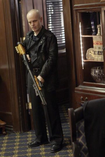 Zeljko Ivanek in una scena di I Am Sylar della terza stagione di Heroes