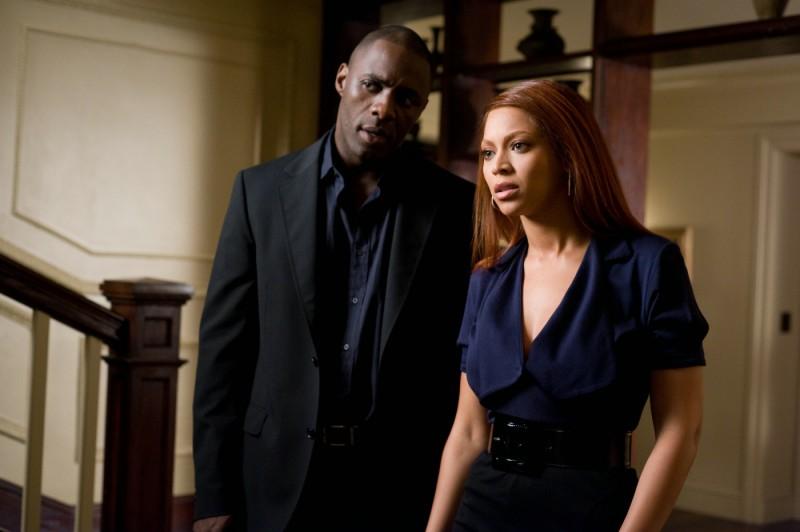 Idris Elba e Beyoncé Knowles in una scena del film Obsessed