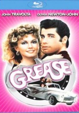 La copertina di Grease (blu-ray)
