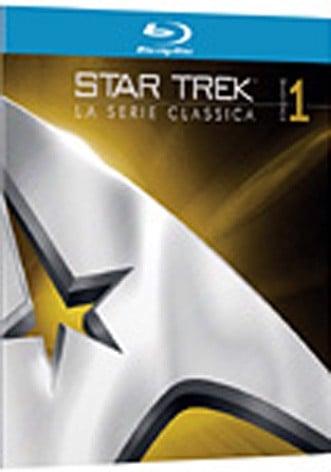 La copertina di Star Trek - La serie classica rimasterizzata - Stagione 1 (blu-ray)