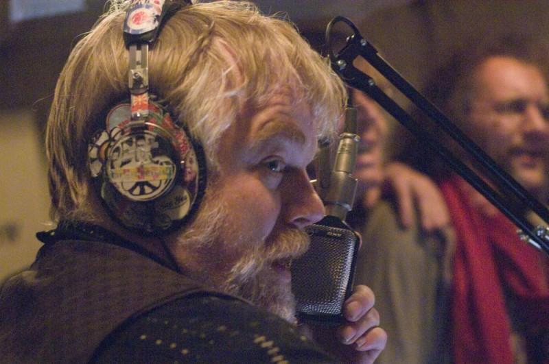 Philip Seymour Hoffman in un'immagine del film I Love Radio Rock