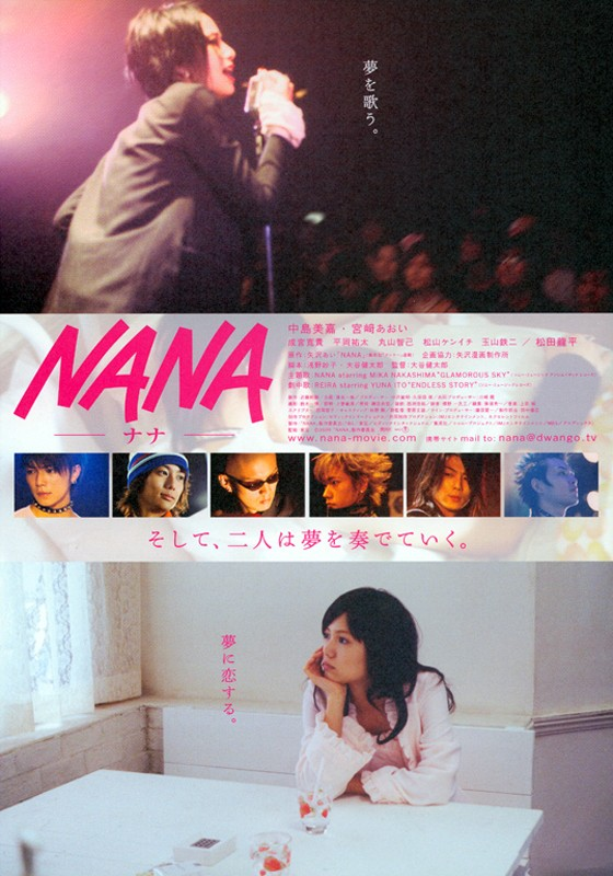 manifesto del film Nana