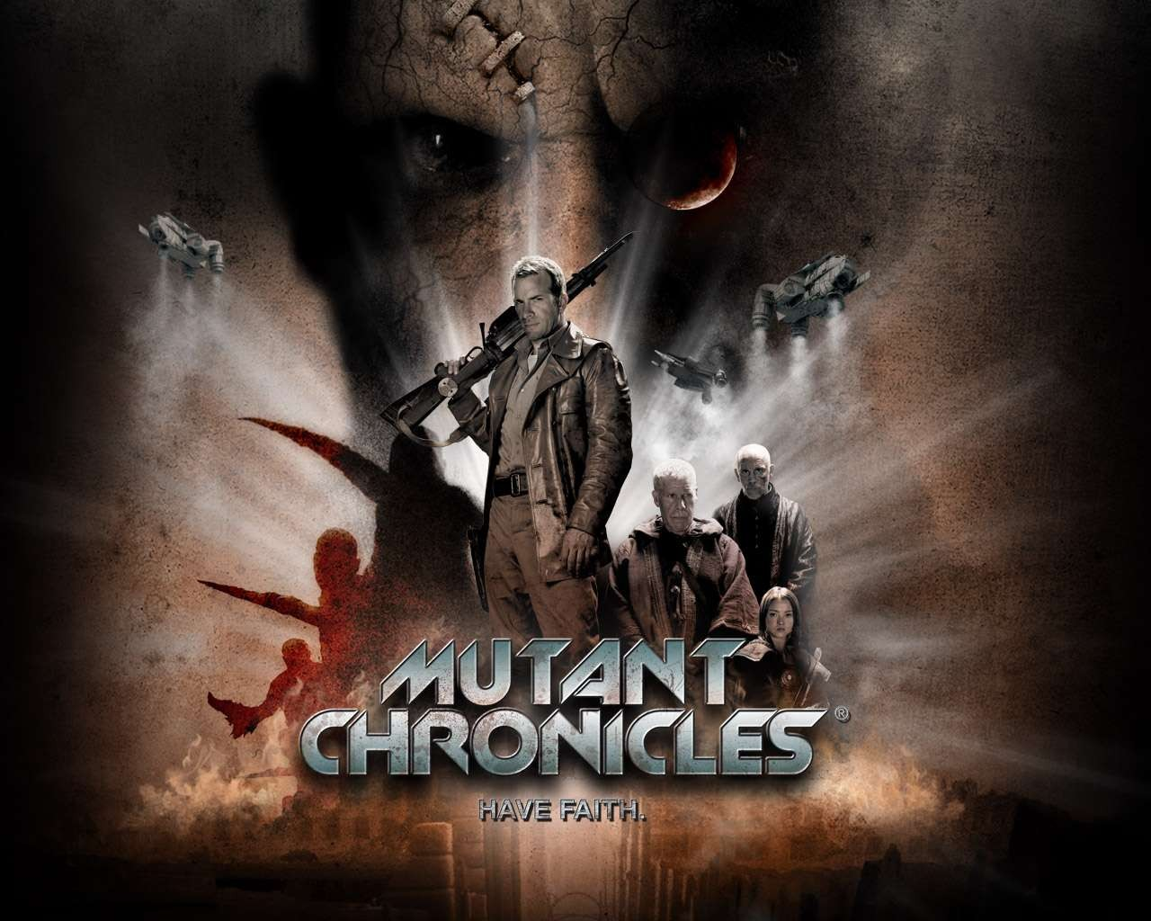 Un wallpaper del film The Mutant Chronicles