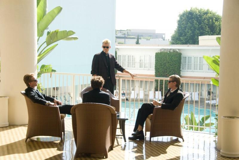 Una scena del film The Informers