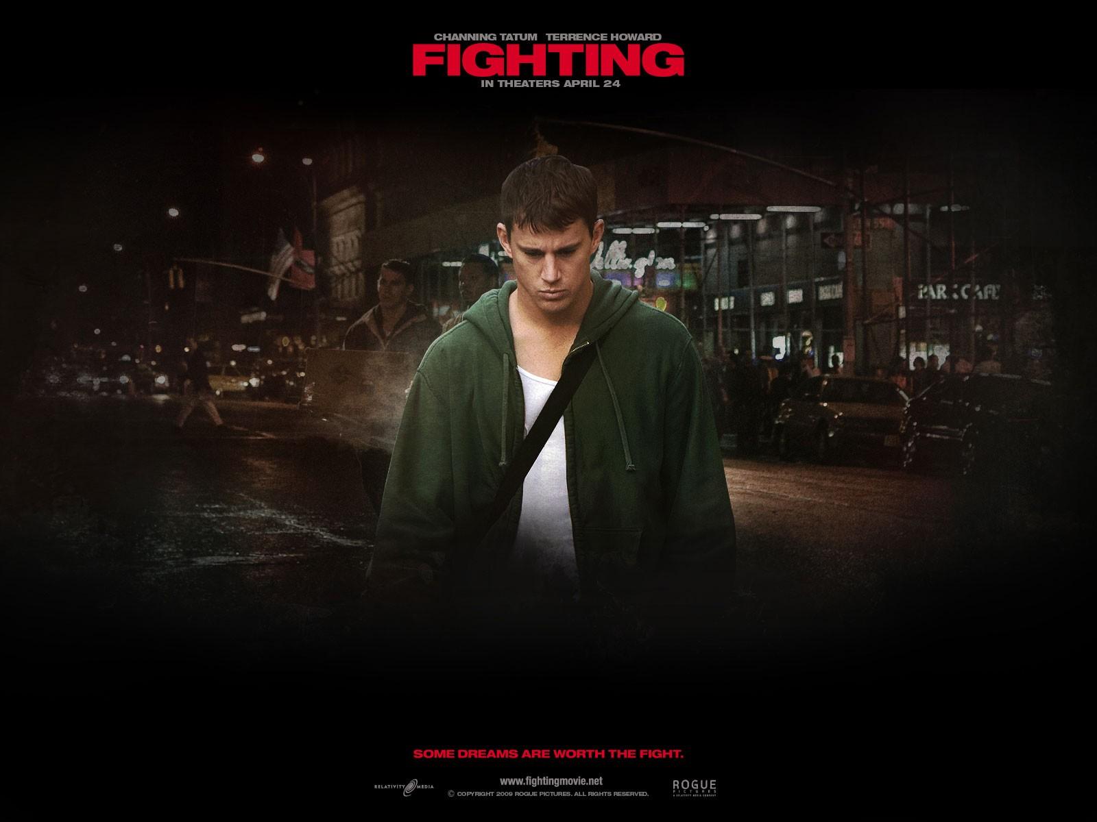Wallpaper del film Fighting con Channing Tatum