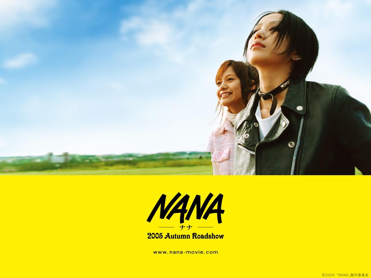 Yui Ichikawa (Nana Osaki) e Mika Nakashima (Nana Komatsu) in un wallpaper del film Nana