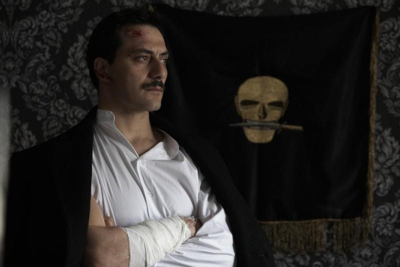 Filippo Timi  è il giovane Benito Mussolini in 'Vincere' di Marco Bellocchio
