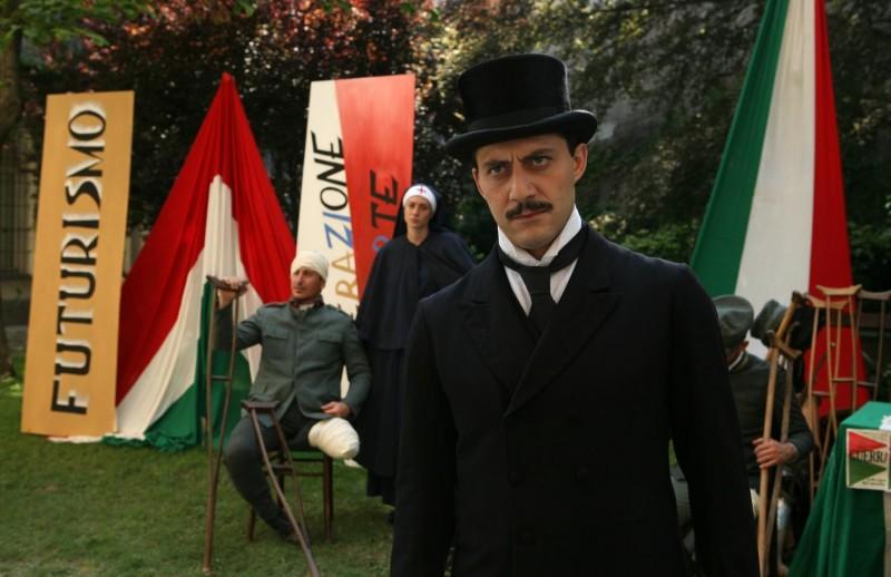 Filippo Timi  è il giovane Mussolini in 'Vincere' di Marco Bellocchio