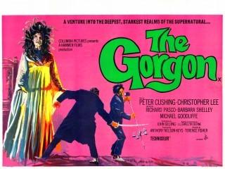 Lobbycard promozionale de Lo sguardo che uccide (The Gorgon, 1964)