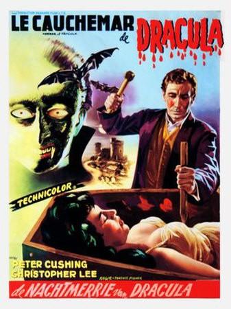 Locandina francese di Dracula il vampiro