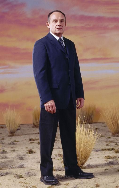 Promo di Paul Guilfoyle della 4 serie di CSI: Crime Scene Investigations