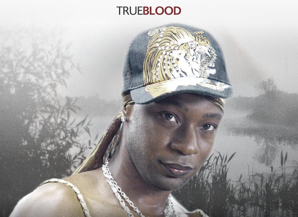Un wallpaper della serie tv True Blood con Nelsan Ellis